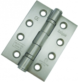 Hinge Satin S/less Steel 2 B/bearing Butt Pk3 Cws 4 X 3in X 3mm H523/6 Class 1