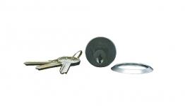4trade Replacement Cylinder 3 Keys Satin