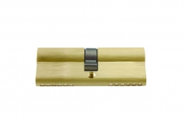 4trade Double Cylinder Euro Profile Brass 40mm X 40mm
