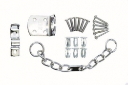 4trade Security Door Chain Chrome (for Use With Pvc & Timber)