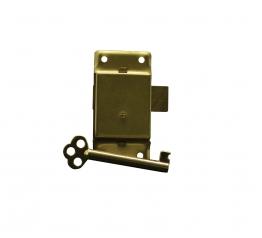 4trade Cupboard Lock 63mm Electro Brass