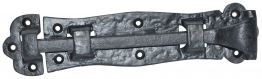 4trade Black Antique Straight Door Bolt 102mm
