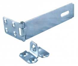 4trade Safety Hasp & Staple Galvanised 150mm