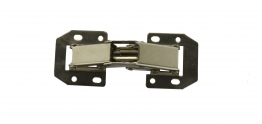 4trade Hinges Lay On Sprung Zinc Plated (pack Of 2)
