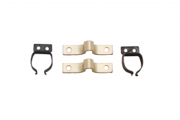 4trade Gripper Catches Electro Brass (pack Of 2)