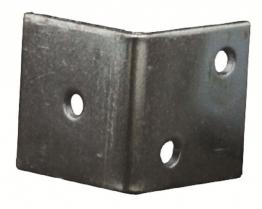 4trade Shrinking Bracket Zinc Plated (pack Of 4)