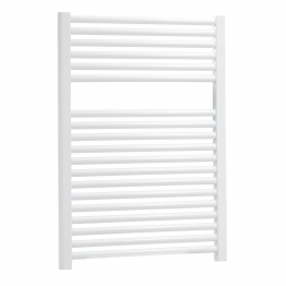 Iflo 25 Mm Straight Towel Rail White 750 X 600 Mm