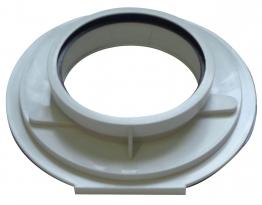 Worcester Bosch 7716191164 100mm Vertical Adaptor For Floor Standing Boilers Only