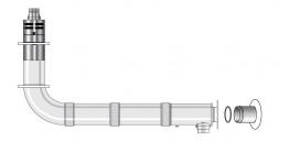 Grant Hlk0290200 90-200 Balanced Flue High Level Flue Con/kit/ult/bh