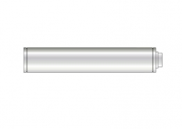 Grant Extk12950/200 90-200 Vertical Balanced Flue High Level Extension