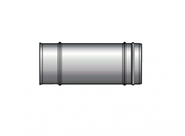 Grant W X 250/100 Vortex He White Flue Extension 250 X 100mm Diameter (15-46kw)