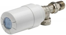Danfoss Living Eco Programmable Thermostatic Radiator Valvle Sensor & Body 8/10/15mm Ang 014g005500