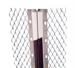 Expamet Internal Galvanised Steel Movement Bead 16mm 3m