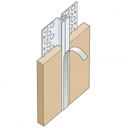 Expamet White Plastic Movement Bead 10mm X 2.5m