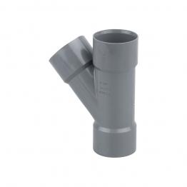 Osmaweld 5z210g Tee 45┬░ 40mm Grey