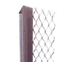 Expamet External Stainless Steel Standard Wing Stop Bead 19mm 3m