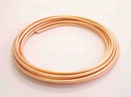Wednesbury Copper Plain Coils Coil Table W W010c-25 10mm X 25m