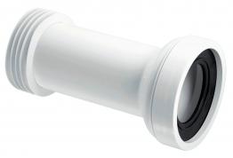 Mcalpine Wc-con2 Straight Adjustable Length Rigid Wc Connector