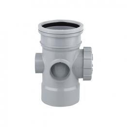 Osmasoil 110mm System Grey Access Pipe 4s374