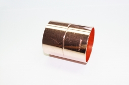 Jw Copper Endfeed Straight Coupling 54mm