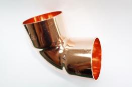 Jw Copper Endfeed Elbow 90 Degree 54mm