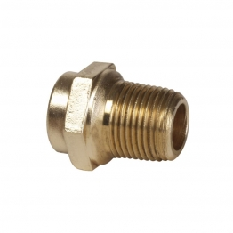 Conex Tp3 Solder Ring Straight Male Connector 15mm X 1/2in