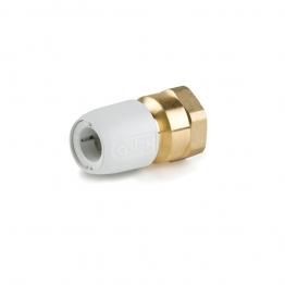Hep2o Hx24/15w Brass Adaptor Female 3/4in X 15mm White