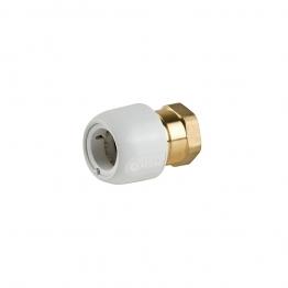 Hep2o Hx28/28w Brass Adaptor Female 1in X 28mm White