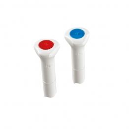 Hep2o Hx44/10w Demountable Fitting Blanking Peg 10mm White