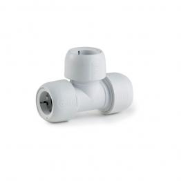 Hep2o Hd10/28w Equal Tee 28mm White
