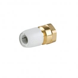 Hep2o Hx28/15w Brass Adaptor Female 1/2in X 15mm White