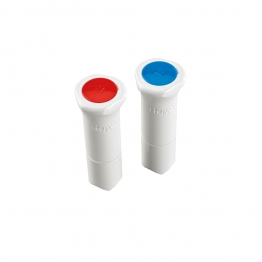 Hep2o Hx44/15w Demountable Fitting Blanking Peg 15mm White