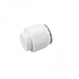 Hep2o Hd62/28w Demountable Stopend 28mm White