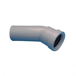 Osma Waste 5w166g Spigot Bend 30┬░ 40mm Grey