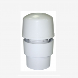 4trade Af32 Universal Solvent Weld Air Admittance Valve White 32mm X 40mm X 50mm