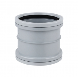 Osmasoil 6s105g D/s Double Socket Grey 160mm