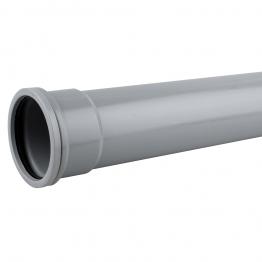 Osmasoil 6s044g Single Socket Pipe 4m Grey 160mm