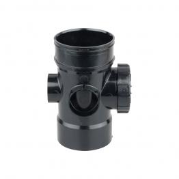 Osmasoil 4s474b Solvent Weld Bossed Access Pipe Black 110mm