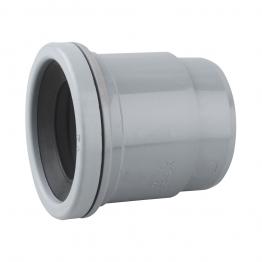 Osmasoil 2s402g Single Socket Boss Adaptor (ring-seal) 50mm Grey