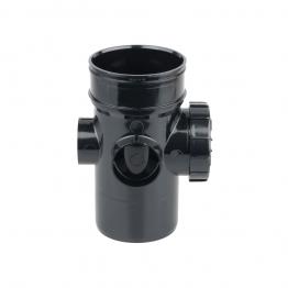 Osmasoil 4s574b Solvent Weld Bossed Access Pipe Black 110mm