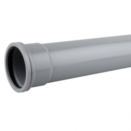 Osmasoil 3s043g Single Socket Pipe 3m Grey 82mm