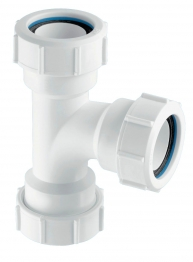 Mcalpine 4in/110mm 90 Degree Flexible Wc Connector