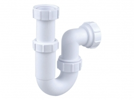 Osma V-joint 32mm Adjustable Tubular Trap White