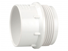 Osma V-joint 32mm S Trap 76mm Seal White