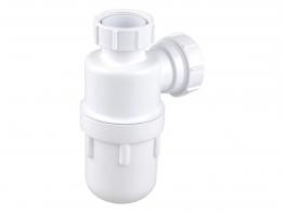 Osma V-joint 32mm Bottle Trap 76mm Seal White