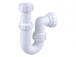 Osma V-joint 40mm Adjustable Tubular Trap White