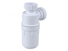 Osma V-joint 40mm Bottle Trap 76mm Seal White