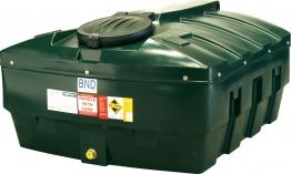 Harlequin 1200hqi Standard Bunded Low Profile Oil Tank