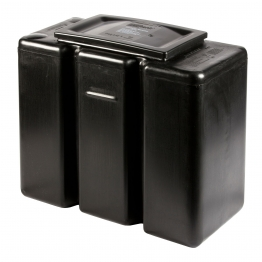 Polytank 241220 Rectangular Cistern 15 Gallon Including Full Kit