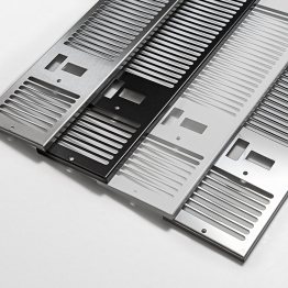 Myson 3cg800 Kickspace 800 Grille Chrome